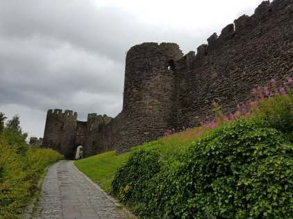 Conwy Castle Wall